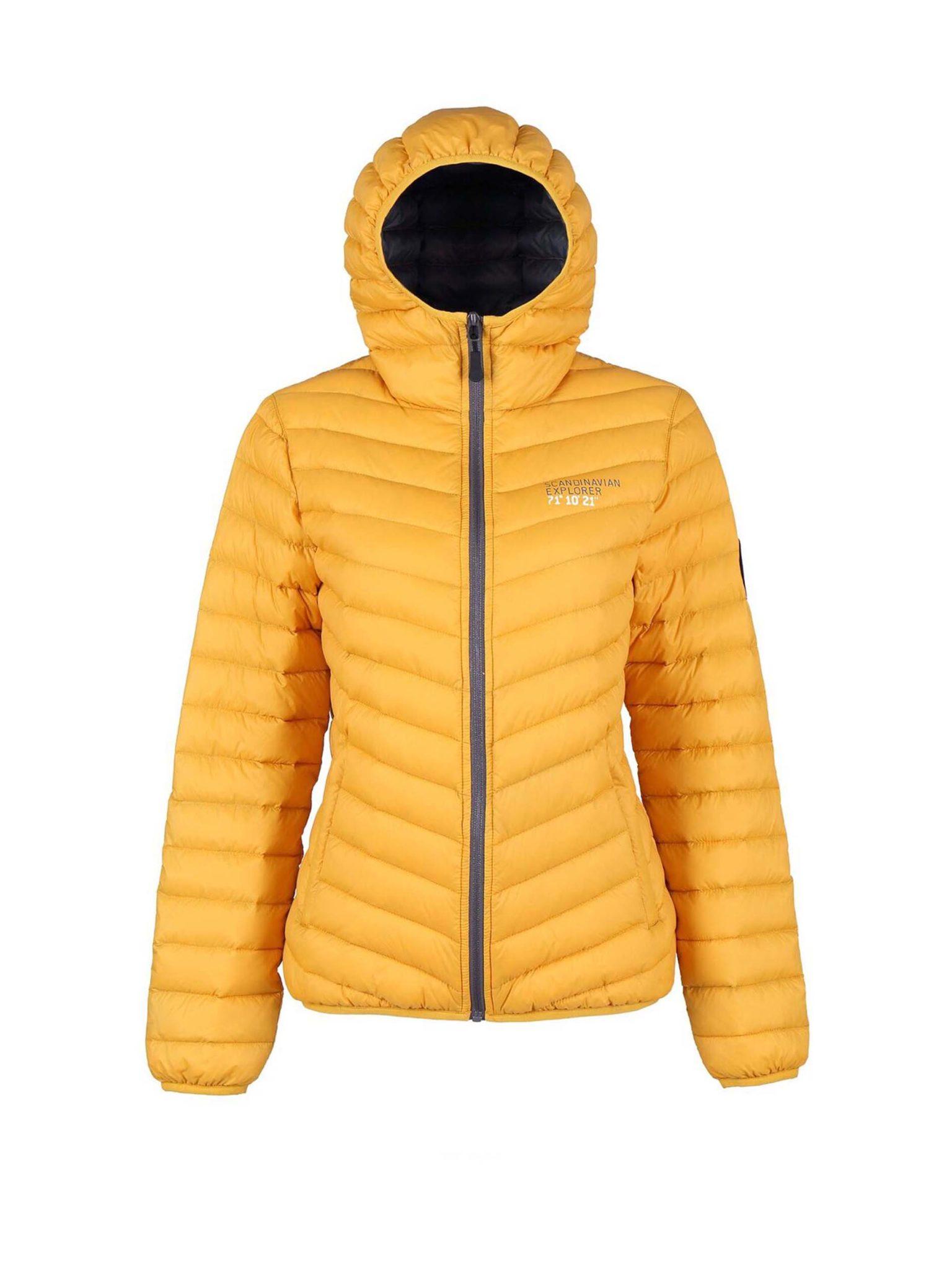 Scandinavian Explorer dunjakke, gul Alle tiders
