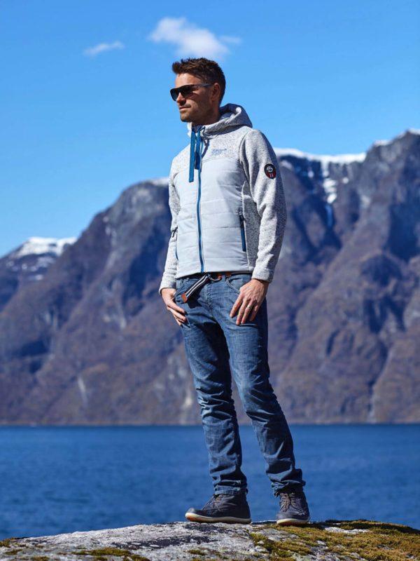 Scandinavian Explorer kombijakke, grå. 4