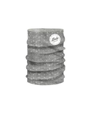 Bula Printed wooltube, grå 2