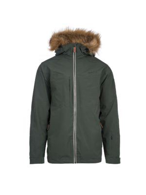 Twentyfour Finse 2-lags jakke, matt grønn 5
