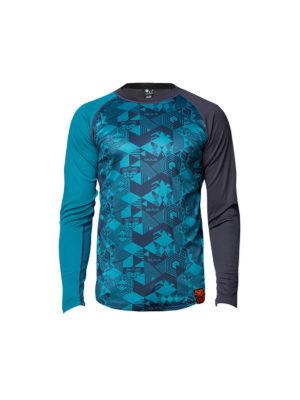 Bula Tikitech baselayer trøye, blå 4