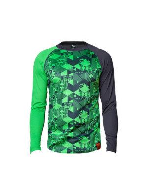 Bula Tikitech baselayertrøye, grønn 3