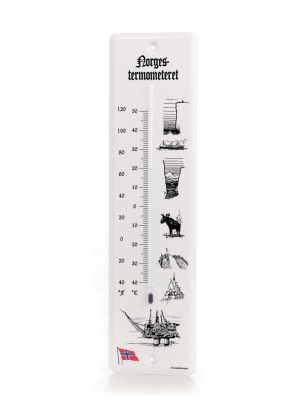 Dialekttempen termometer Norge/USA
