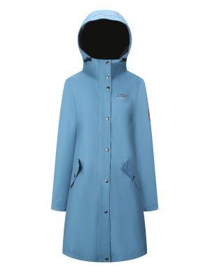 Scandinavian Explorer regnkåpe, lys blå 12