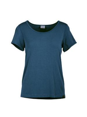 badb260e Twentyfour Oslo bambus t-skjorte, blågrå