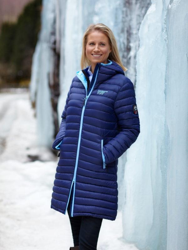 Scandinavian Explorer Dunkåpe på model, Marine