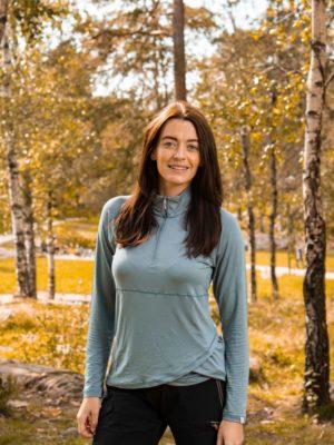 Twentyfour Model som viser Oslo bambus HZ, grågrønn