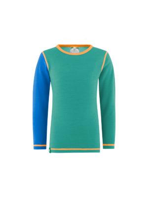 Vossatassar solid trøye, blå