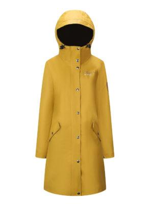 Scandinavian Explorer regnkåpe gul front