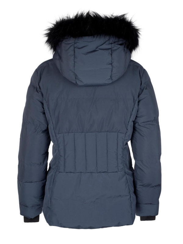 Twentyfour Meribel Warm Jacket Nattblå bak