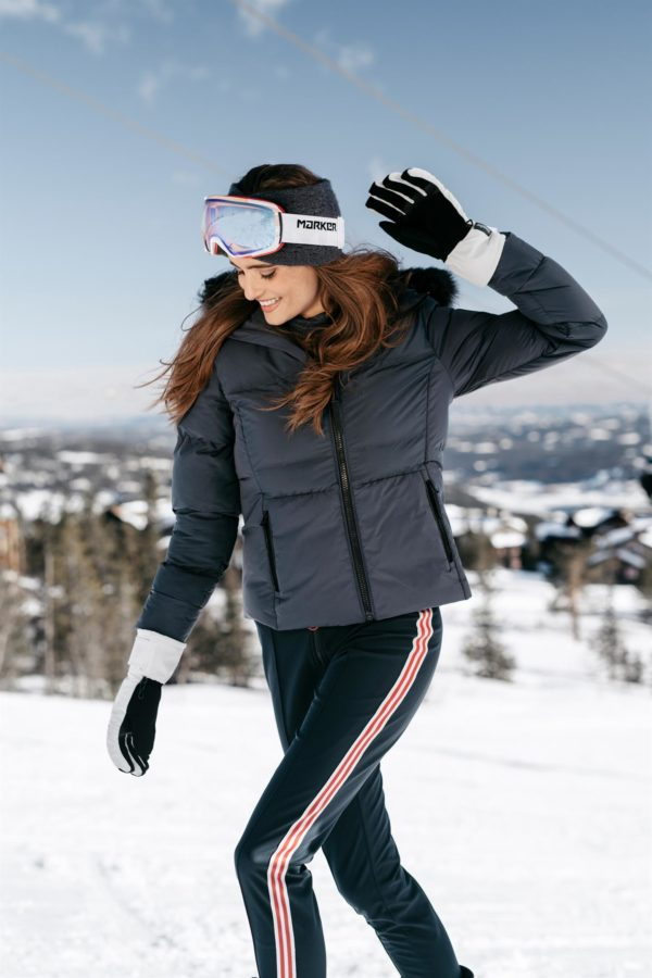 Twentyfour Meribel Warm Jacket Nattblå skibakke