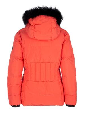 Twentyfour Meribel Warm Jacket Tranebær bak