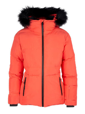 Twentyfour Meribel Warm Jacket Tranebær front