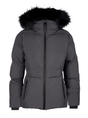 Twentyfour Meribel Warm Jacket skyggesort Front