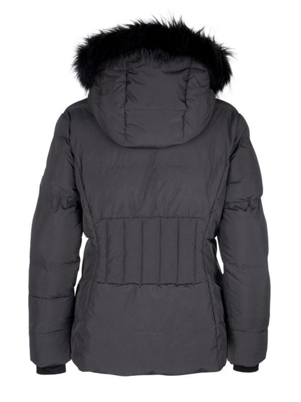 Twentyfour Meribel Warm Jacket skyggesort bak