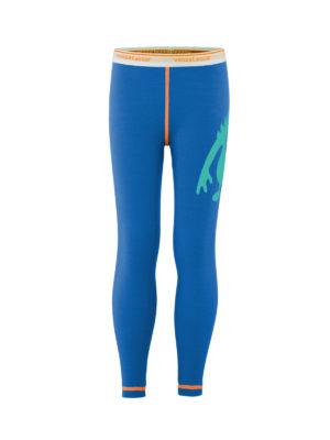Vossatassar Monsterull solid bukse, blå