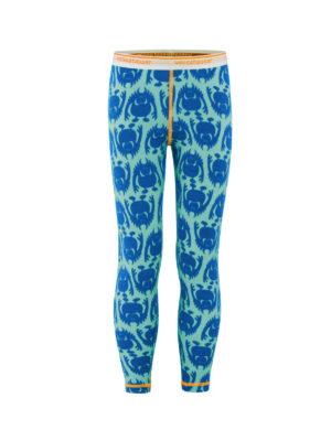 Vossatassar Monsterull bukse, blå