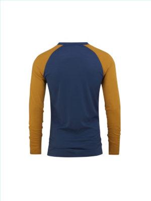 Bula Retro wool Crew denim genser bak